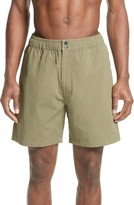 Saturdays NYC Men's Trent Cotton Canvas Swim Trunks