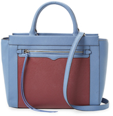 Rebecca Minkoff Monroe Small Bicolor Leather Tote