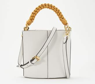 Vince Camuto Leather Drum Bag - Zane