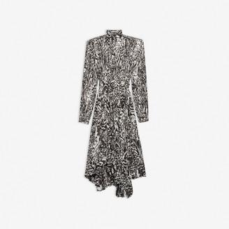 Balenciaga Dynasty Pleated Dress