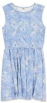 Forever 21 Girls Diamond Print Babydoll Dress (Kids)