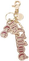 See by Chloe logo charm keyring - women - Zinc/Enamel - One Size