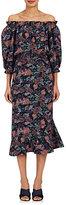 Saloni Women's Grace Floral Silk Maxi Dress