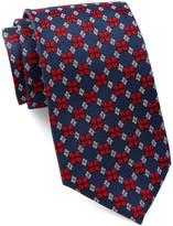 Tailorbyrd Silk Ladybug Print Tie