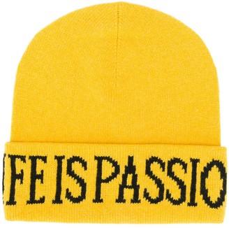Alberta Ferretti Life Is Passion knitted beanie
