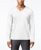 INC International Concepts Men's Dressy V-Neck T-Shirt, Only at Macy's