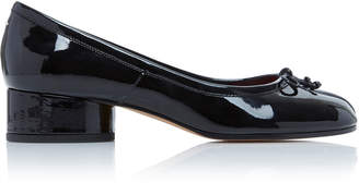 Maison Margiela Patent Leather Ballet Pumps