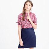 Ruffle popover shirt in Liberty Art Fabrics Wiltshire print