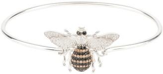 Latelita Honey Bee Bangle Bracelet Silver