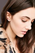 Urban Outfitters 18k Gold Plated Heart Post Earring