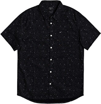 Quiksilver Spilled Rice Short Sleeve Button-Up Shirt