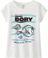 Uniqlo Girls Pixar Graphic Tee