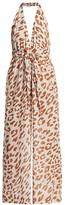 Nanushka Alayna Leopard-Print Jumpsuit