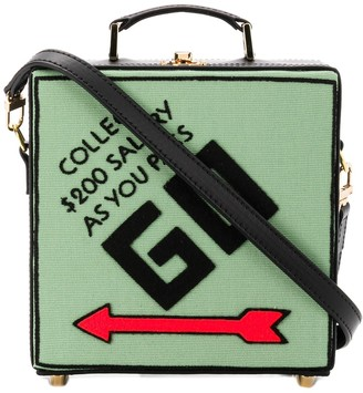Olympia Le-Tan Collect Salary clutch bag