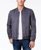 Calvin Klein Men's Faux-Suede Bomber Jacket