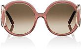 Chloé Women's Jackson Round Sunglasses-PINK, NO COLOR