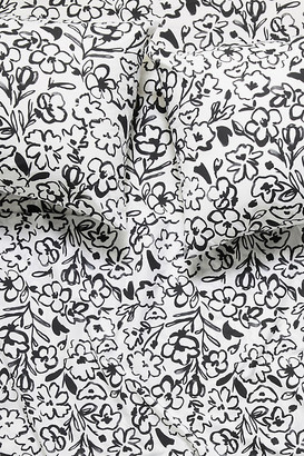 Anthropologie Florentina Sheet Set By in Black Size Tw sht set