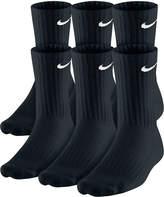 Nike Men's Cotton Crew Socks, 6-Pack
