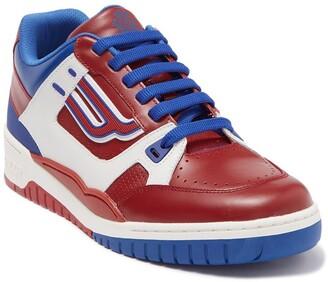 Bally Kuba Leather Colorblock Sneaker