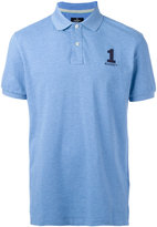 Hackett logo embroidery polo shirt - men - Cotton/Spandex/Elastane - M