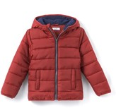 La Redoute Collections Fleece-Lined Hooded Padded Jacket, 3-12 Years