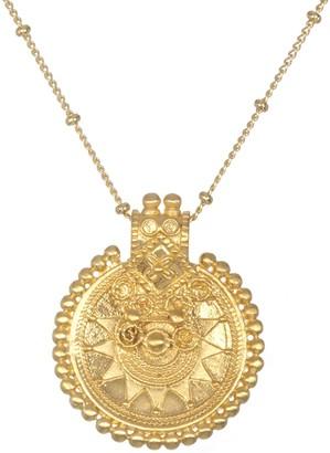 "Satya Mandala Pendant with 36"" Chain"
