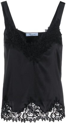 Blumarine Embroidered Details Top
