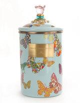 Mackenzie Childs MacKenzie-Childs Sky Butterfly Garden Large Canister