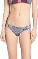 Red Carter Women's Reversible Bikini Bottoms