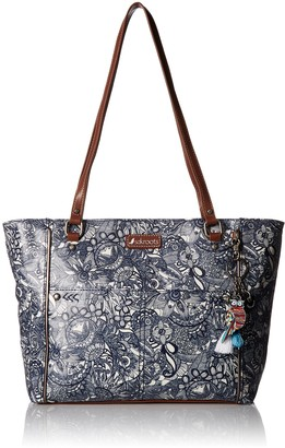Sakroots Women's Metro Top Handle Handbag
