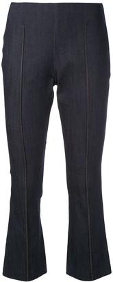 Cinq à Sept Mila cropped denim trousers