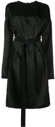 Ann Demeulemeester Belted Midi Dress