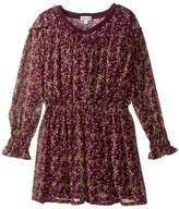Splendid Littles Printed Crinkle Chiffon Dress (Little Kids)