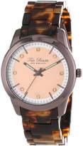Ted Baker Women's TE4081 Dress Sport Rose Gold Dial Bronzelite Case Bracelet Watch