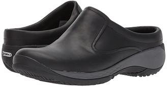 Merrell Encore Q2 Slide Leather (Black) Women's Clog Shoes