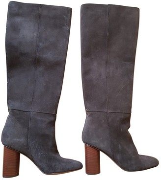 Jerome Dreyfuss Brown Suede Boots