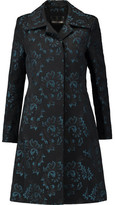 Roberto Cavalli Cotton-Blend Jacquard Coat