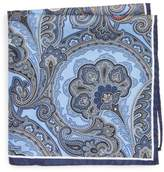 Nordstrom Paisley Silk Pocket Square