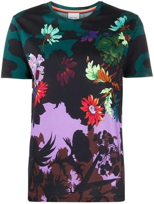 Paul Smith floral print short sleeve T-shirt
