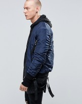 Sixth June Bomber Jacket With Detachable Straps