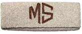 The Well Appointed House Monogrammed Beaded Cylinder Clutch - Customizable