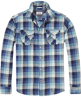 Hilfiger Denim Check Shirt, Colonial Blue Multi