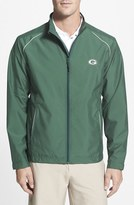 Cutter & Buck 'Green Bay Packers - Beacon' WeatherTec Wind & Water Resistant Jacket (Big & Tall)