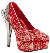 Women's Hades Azure Platform Pump - Red Heels