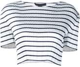 Alexander Wang striped cropped top