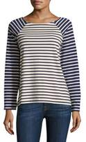 Vineyard Vines Striped Long-Sleeve Top
