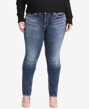 Silver Jeans Co. Plus Size Elyse Curvy-Fit Jeans