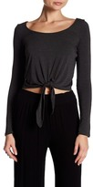 Clayton Long Sleeve Samantha Tie Top