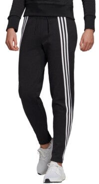adidas 3-Stripe High-Waist Knit Pants
