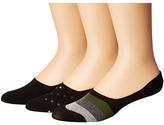 Steve Madden 3-Pack Shoe Liners - Stripes